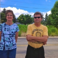 Lori and Mike Fahle, Stewards of the NNHS Prairie