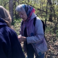 Pat Armstrong at Oakhurst County Forest Preserve